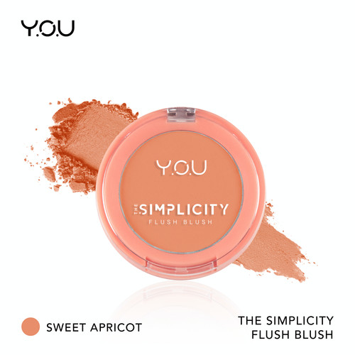 Foto Produk The Simplicity Flush Blush by YOU Makeups - Sweet Apricot dari YOU Makeups Official