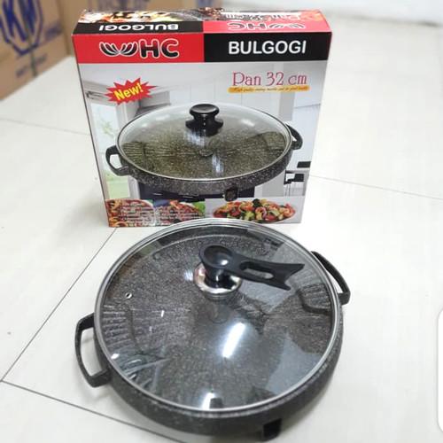 Foto Produk HC Bulgogi Pan / Alat Panggang Steak Yakiniku Pan 32 cm dari lapak_jovan