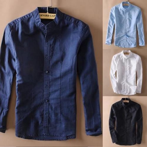 Foto Produk Baju Kemeja Bernard Premium Class Limited Editions - Hitam, M dari wkfashionanble