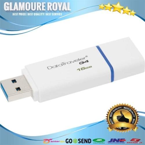 Foto Produk Kingston DataTraveler Generation 4 16GB (DTIG4) dari Glamoure Royal