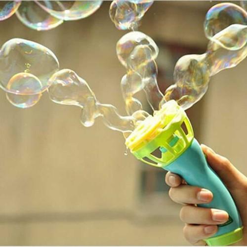 Foto Produk Mainan Gelembung Sabun Otomatis Bubble Gun mainan anak dari Rumah Susun
