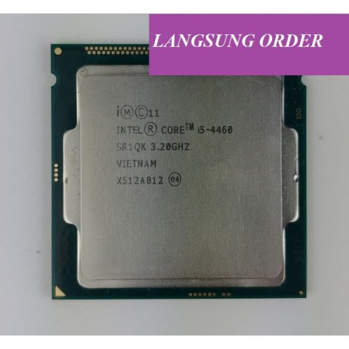 Foto Produk Intel Core i5-4460 3.2Ghz - Cache 6MB [Tray] Socket LGA 1150 + FAN dari DUNIATECH KOMPUTER