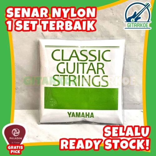 Foto Produk Senar Gitar Nylon Yamaha Nilon Akustik Classic Guitar Strings dari gitarkoe
