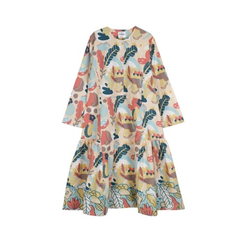 Foto Produk Nadjani - Dress Linary Poplin - Peach dari Nadjani