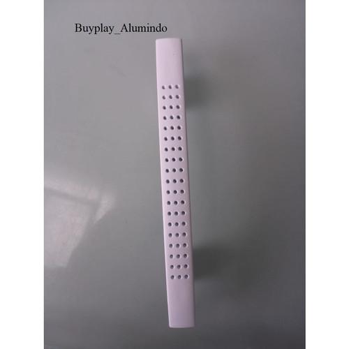Foto Produk handle tarikan pegangan gagang pintu lemari laci Bintik PG 96 - Putih dari buyplay_Alumindo