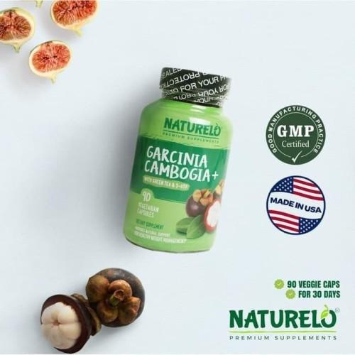 Foto Produk NATURELO Natural Appetite Suppressant with Garcinia Cambogia 90c DIET dari Toko Bonus