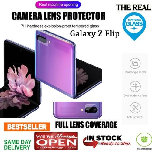 Foto Produk Samsung Galaxy Z FLIP LENS CAMERA Protection GLASS (REALGLAS) dari Spigen Indonesia
