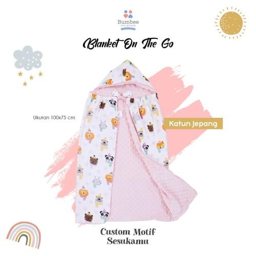 Foto Produk Blanket atau Selimut On The Go Katun Jepang PreOrder Bumbee Collection dari Bumbee Collection Asli