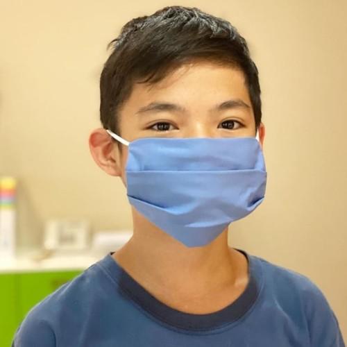 Foto Produk masker kain kualitas premium 3 ply . no scuba .bahan katun dari WydiaSusan Shop