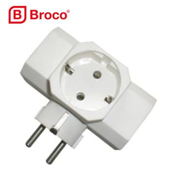 Foto Produk BROCO T Arde Steker Colokan Cabang 3 Lubang dari Britplaza