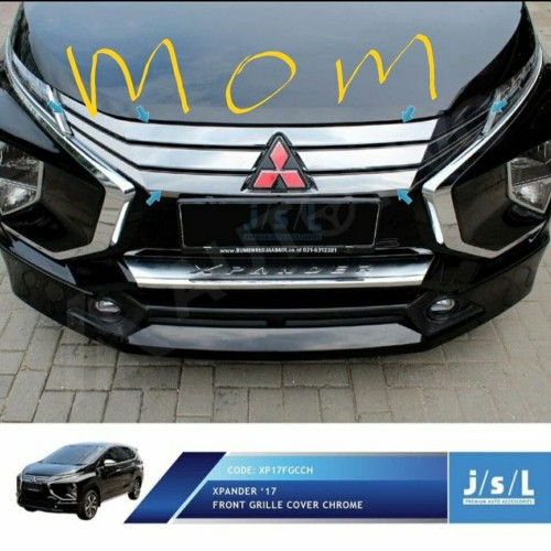 Foto Produk JSL Front Grille / Garnish List Grill Depan Chrome Xpander dari Mega Oriental Motor