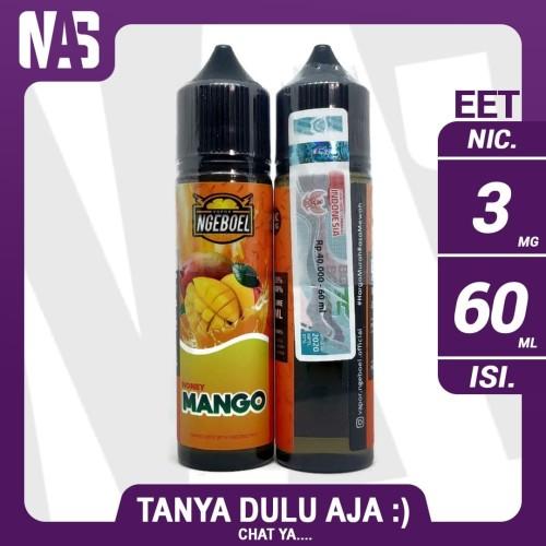 Foto Produk Ngeboel Splash Honey Mango 3mg 60ml Liquid Vape Cukai dari NAS VIRTUAL