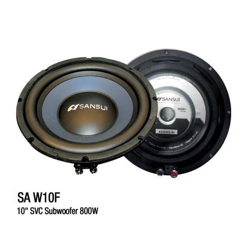 Foto Produk Subwoofer Pasif Sansui SA-W10F (10 inch) Audio Mobil dari Sansui Car Audio
