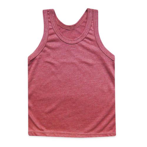 Foto Produk Skabe Singlet Baju Anak Unisex Polos Warna Usia 1 - 24 Bulan Vench - peach, M dari wakakids