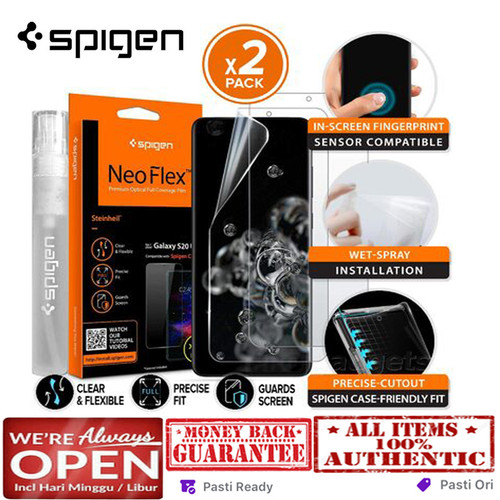 Foto Produk Samsung Galaxy S20 Ultra / S20 Plus / S20 Screen SPIGEN NEO FLEX - S20 Ultra dari Spigen Indonesia