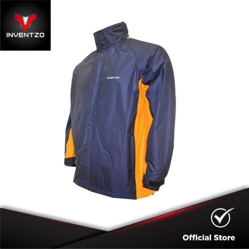 Foto Produk INVENTZO STORMRIDER Beta - Jaket Waterproof Pria - Navy Yellow - Large dari INVENTZO