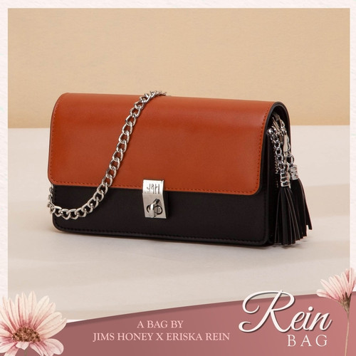 Foto Produk Jims Honey - Rein Bag Tas Wanita Mini Sling Bag - Cokelat dari JIMS HONEY OFFICIAL