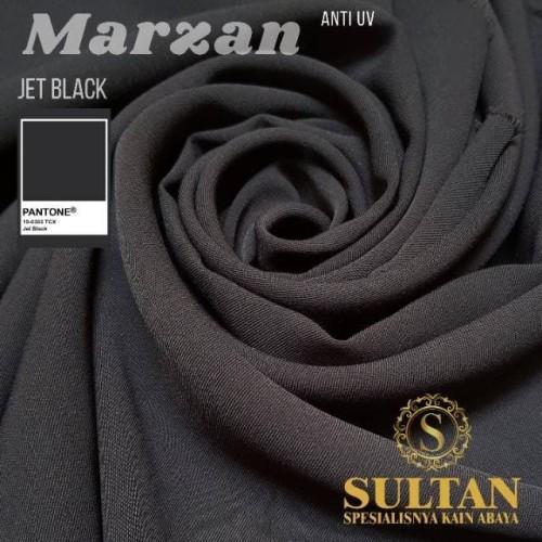 Foto Produk MARZAN Jetblack/ Normal Black KAIN ANTI UV SULTAN dari KAIN SULTAN OFFICIAL