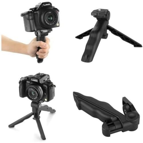 Foto Produk Tripod Mini Gun Pod   Portable Mini Folding Tripod dari pixmix