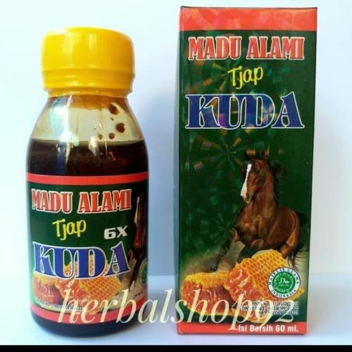 Foto Produk Madu Alami Cap Kuda Asli Penambah Stamina dari RavinShop