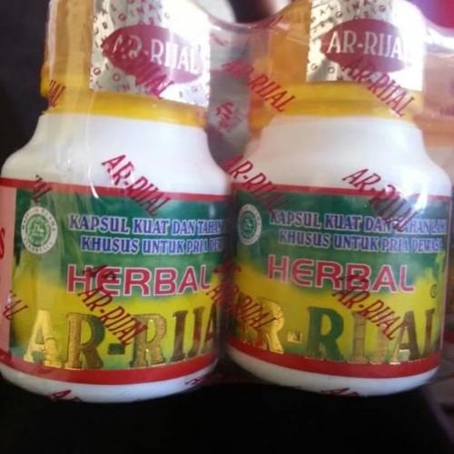Foto Produk Arrijal Ar Rijal Herbal Penguat Stamina Pria dari RavinShop