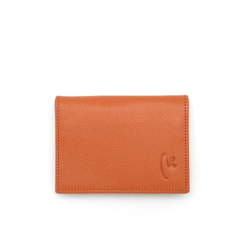 Foto Produk Card Holder Branded VERMONT K002 Kulit Asli Orange Original Leather dari VERMONT LEATHER
