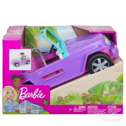 Foto Produk Mobil Boneka Barbie Purple Jeep Ungu 2 Seater Mattel Car dari Mishana Shop