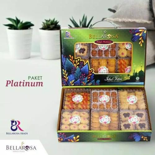 Jual Paket Kue Lebaran Bellarosa Platinum 6 Toples Kue Kering Kab Bekasi Faiha Coklat Tokopedia