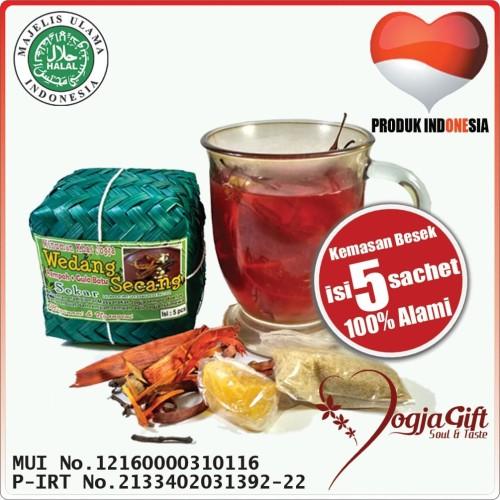 Foto Produk Wedang Secang Rempah Gula Batu Sekar isi 5 sachet dari Jogja Gift Corner