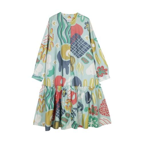 Foto Produk Nadjani - Dress Winny - Mint dari Nadjani