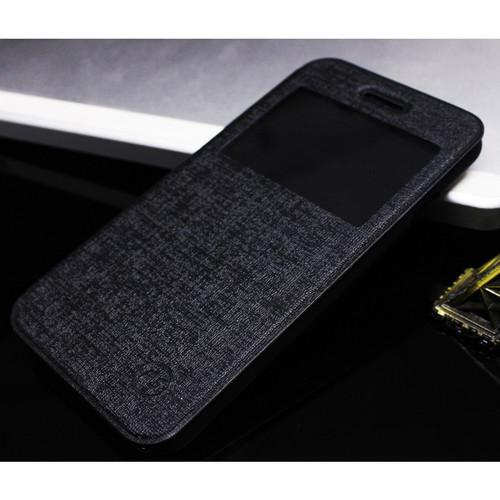 Foto Produk FS Benfer Flip Case Wallet Xiaomi Redmi 2S/Prime+ 3 3 Pro 3X Pro 4 4A - Hitam, Redmi 2S dari HidupKeren