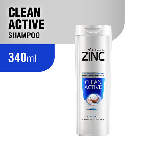 Foto Produk Zinc Shampoo 340 ml - Clean Active dari Wings Official Store