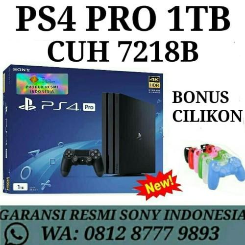 Foto Produk PS 4 PRO 1TB CUH 7006B Garansi Resmi Sony dari Divisi Game
