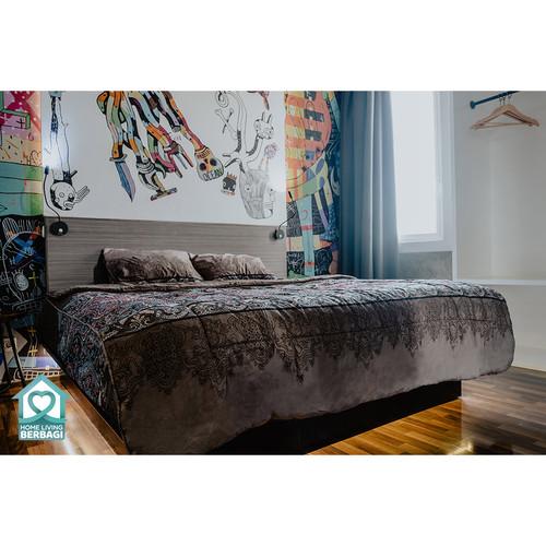 Foto Produk Bed Cover Nyenyak Regent - Single 160x220 - Single dari Sprei Nyenyak Official