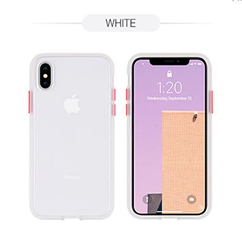 Foto Produk Goospery iPhone X / iPhone XS Peach Garden Bumper Case - White dari Goospery Indonesia