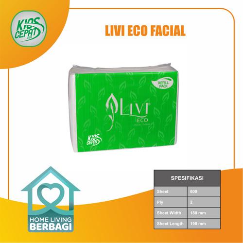 Foto Produk Tissue LIVI ECO Facial Refill 600s dari KiosCepat