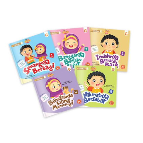 Foto Produk Buku Anak Islami - 1 Set Seri Akhlak Anak Hebat dari Gema Insani