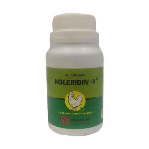 Foto Produk Obat kolera hewan KOLERIDIN-K isi 100kaplet dari vetma pet and poultry