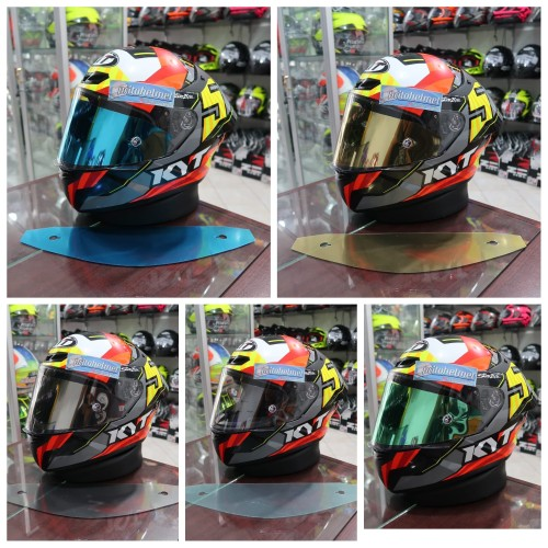Foto Produk Tear Off Iridium KYT TT Course dari yogyakarta helmet