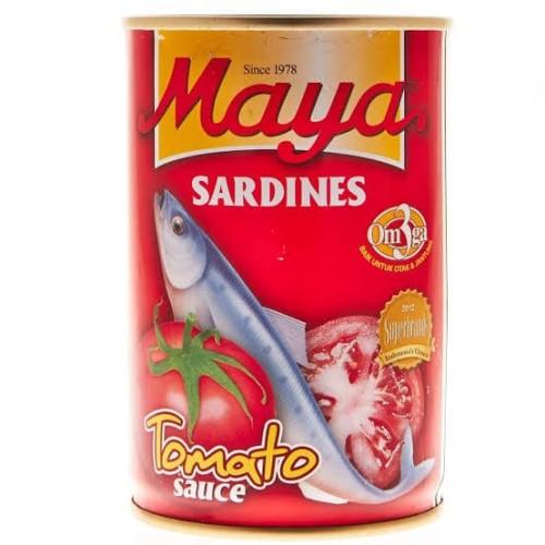 Foto Produk Maya Sardines / Sarden besar ukuran 425 gram Saos Tomat dari Arfan Sembako