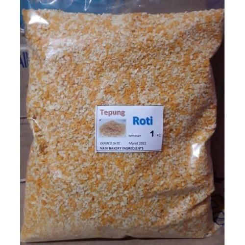 Foto Produk TEPUNG ROTI / BREAD CRUMB/ PANIR 1KG dari NAIV Bakery Ingredients
