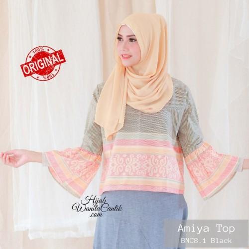 Foto Produk Hijabwanitacantik ORI Amiya TOP ORIGINAL | Atasan Wanita dari MITRA TIGA