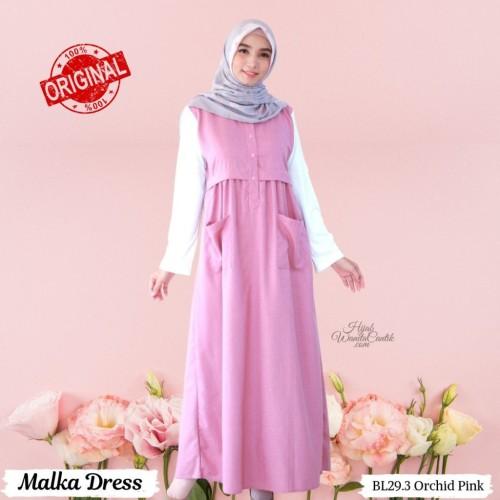 Foto Produk Hijabwanitacantik ORI Malka Dress ORIGINAL | Pakaian dari MITRA TIGA