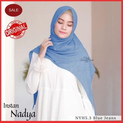 Foto Produk Hijabwanitacantik ORI   DEFECT SALE Instan Blue Jeans NYH5.3 ORIGINAL dari MITRA TIGA