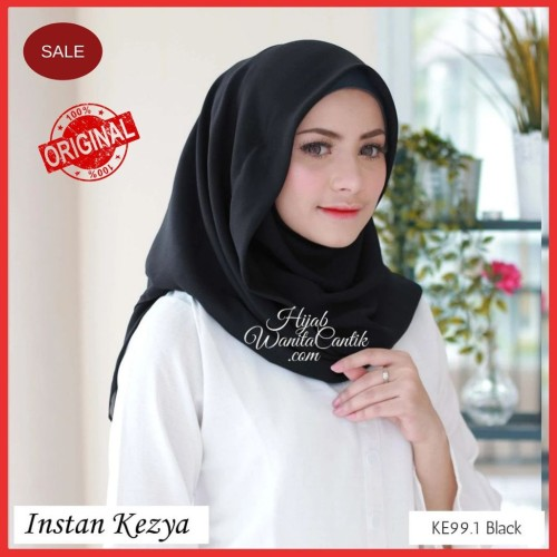 Foto Produk Hijabwanitacantik ORI | DEFECT SALE Pashmina Instan Kezya ORIGINAL | dari MITRA TIGA