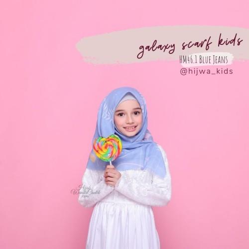 Foto Produk Hijabwanitacantik ORI | Segiempat Galaxy Scarf Kids ORIGINAL | Hijab dari MITRA TIGA