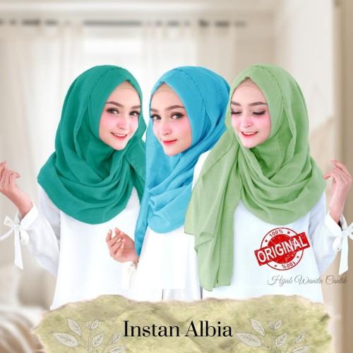 Foto Produk Hijabwanitacantik ORI Instan Albia ORIGINAL | Hijab Instan | Jilbab dari MITRA TIGA