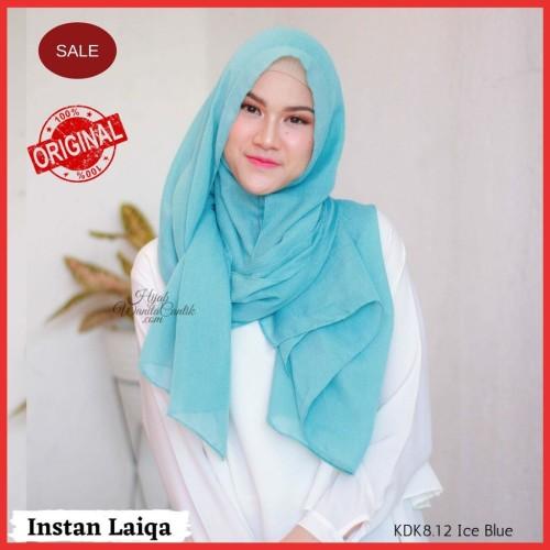 Foto Produk Hijabwanitacantik ORI   DEFECT SALE Pashmina Instan Laiqa ORIGINAL   dari MITRA TIGA