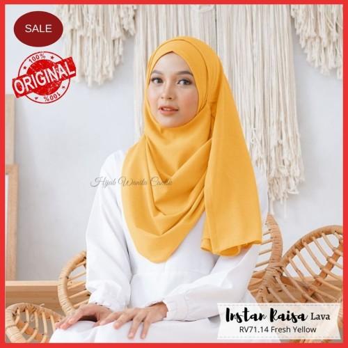 Foto Produk Hijabwanitacantik ORI   DEFECT SALE Pashmina Instan Raisa Lava dari MITRA TIGA