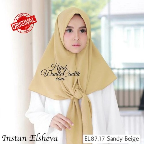 Foto Produk Hijabwanitacantik ORI Segitiga Instan Elsheva ORIGINAL | Hijab Instan dari MITRA TIGA